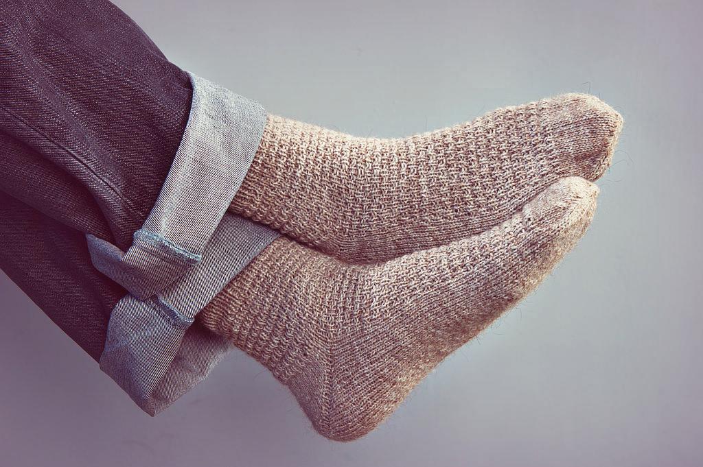 Как определить размер носков мужских