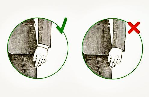 Как должен сидеть мужской пиджак