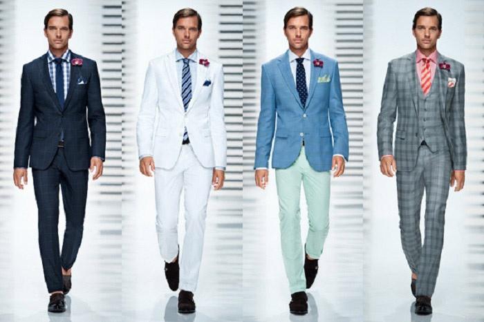 Выбираем размер мужского костюма
