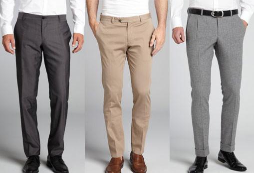 Как определить длину мужских брюк