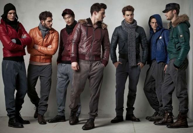 Коллекция мужской одежды в унигло спб