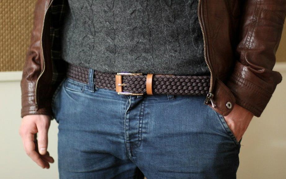 Как выбрать кожаный мужской ремень и определить его длину 2492118fa19ed