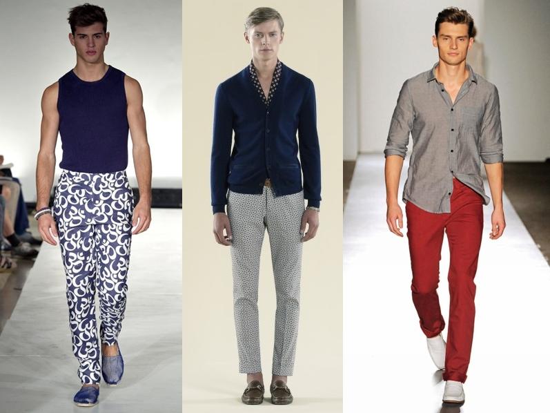Как должны сидеть мужские брюки