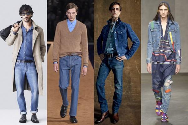 Как выбрать размер мужских джинсов