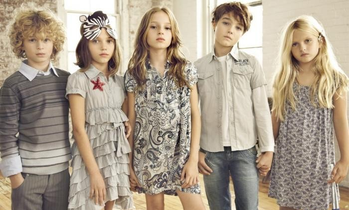 детские размеры одежды uk
