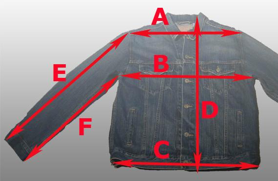 25fefa81641 Как определить размер куртки мужской