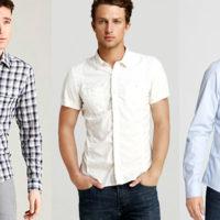 Таблица размеров одежды для мужчин: рубашки