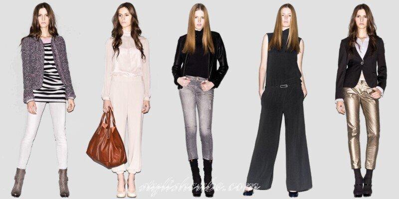 размеры одежды для женщин брюки