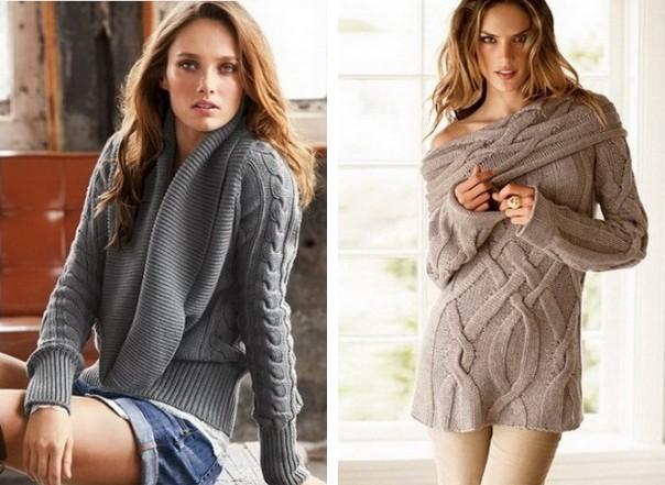 Модели свитеров, которые актуальны в любом сезоне. Для выезда на природу или приятную прогулку женские модные