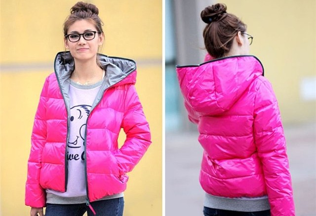 размер курток женских китай