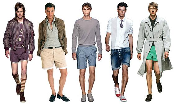 Таблица размеров одежды для мужчин: шорты