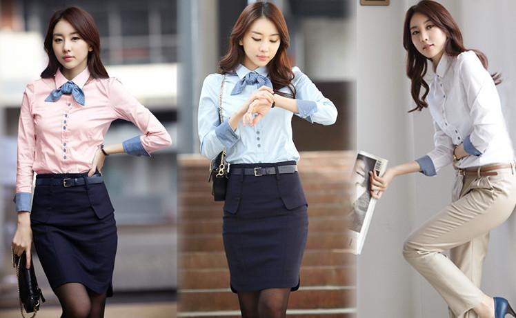 как выбрать женскую рубашку