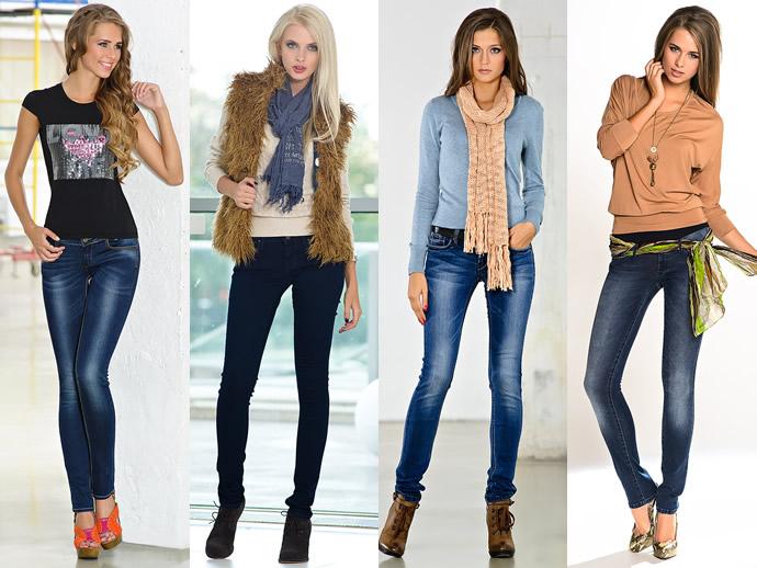 размеры джинсов женские