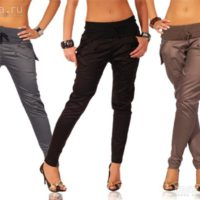 Как подобрать женские брюки
