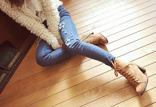 Определяем размер джинсов