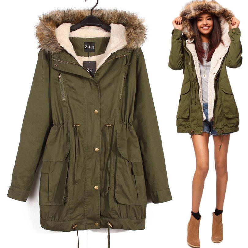 как определить размер женской куртки