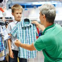 Разбираемся в примерных размерах одежды для мальчика