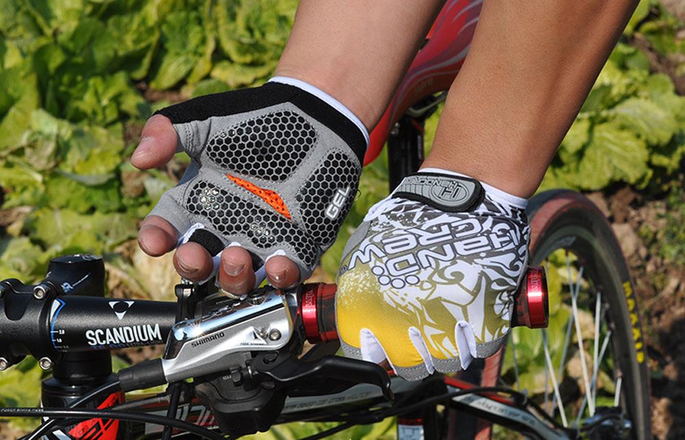 Перчатки для поездок на велосипеде