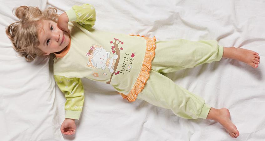 Выбор детской пижамы