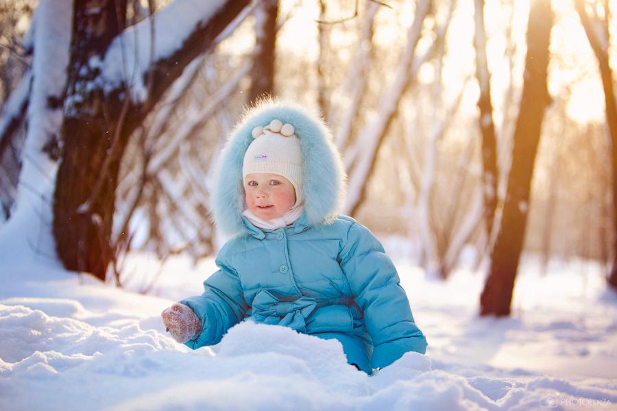 Зимний комбинезон годовалому ребенку