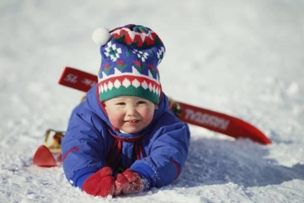 Зимний комбинезон ребенку по размеру