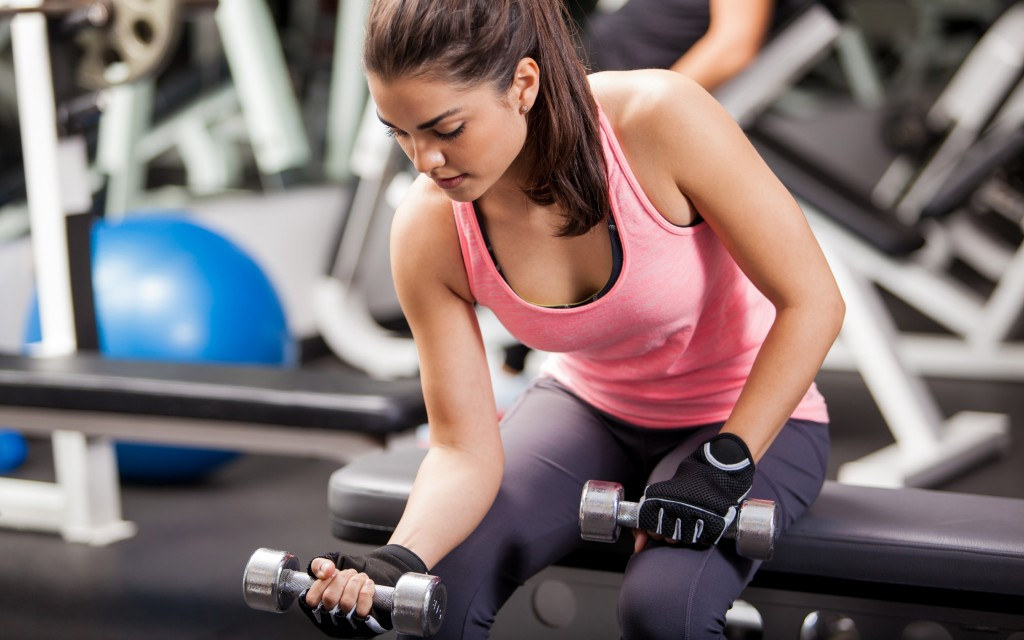 dumbbell-gym-woman-fitness
