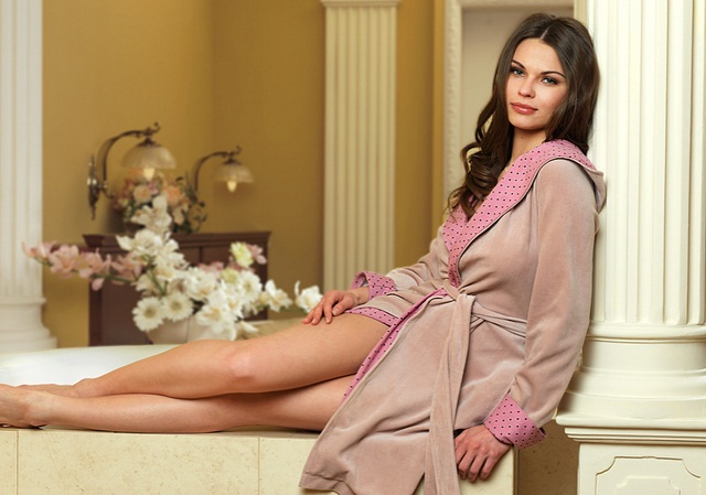 как выбрать женский халат