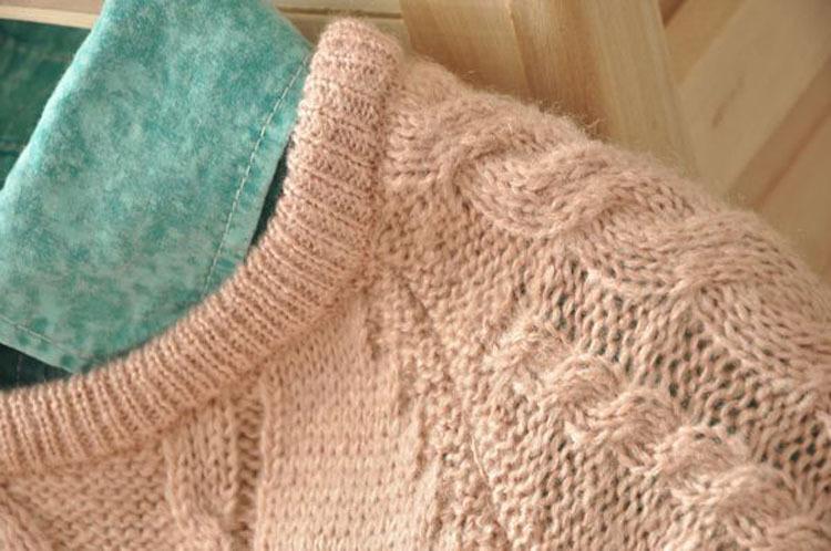 как определить размер пуловера