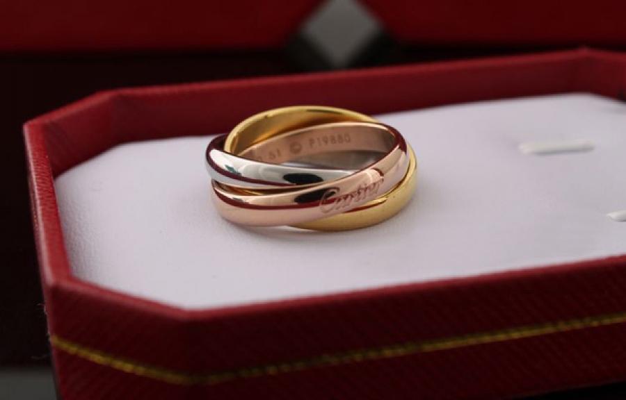 свадебное кольцо Trinity от Cartier