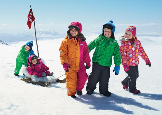 как определить размер зимнего комбинезона для ребенка