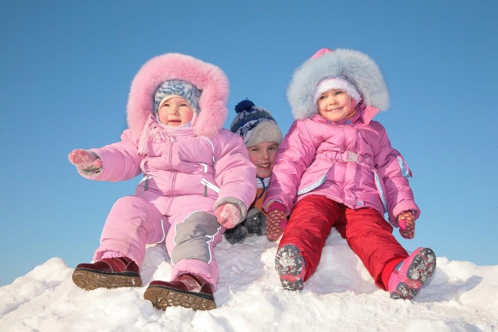 выбрать размер детского зимнего комбинезона