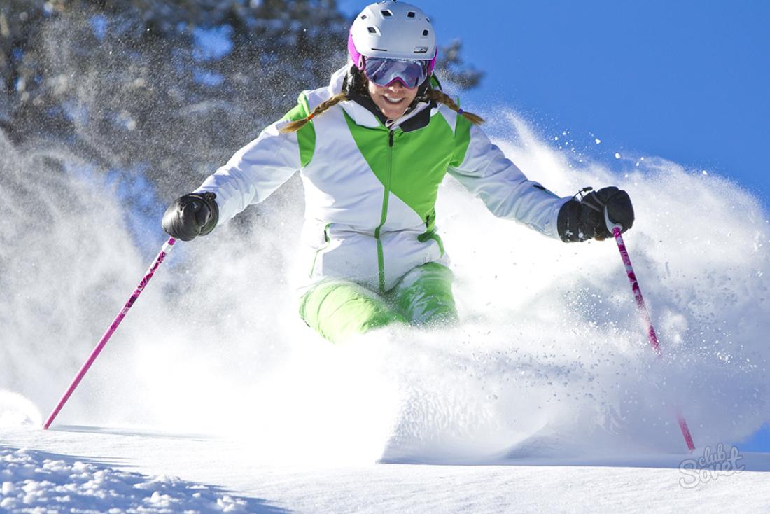 выбор коньковых лыж