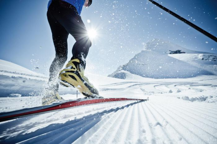 лыжи коньковый ход