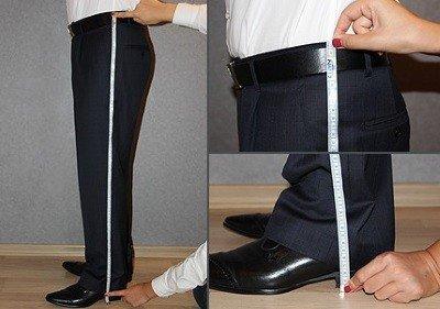 определить размер штанов на али