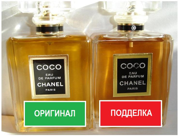 Подделка духов «Шанель»: как отличить оригинальный парфюм