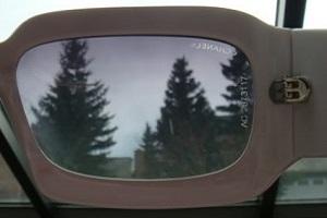 Фальсифицированные очки Шанель