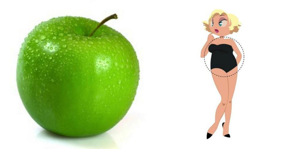 """Картинки по запросу """"фигура яблоко"""""""