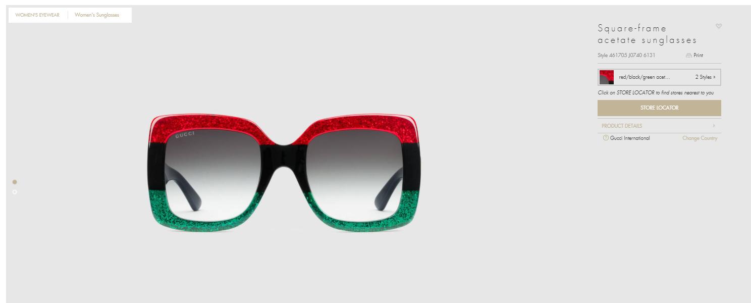 Очки «Гуччи» как у Фейса: где найти очки из клипа и за сколько