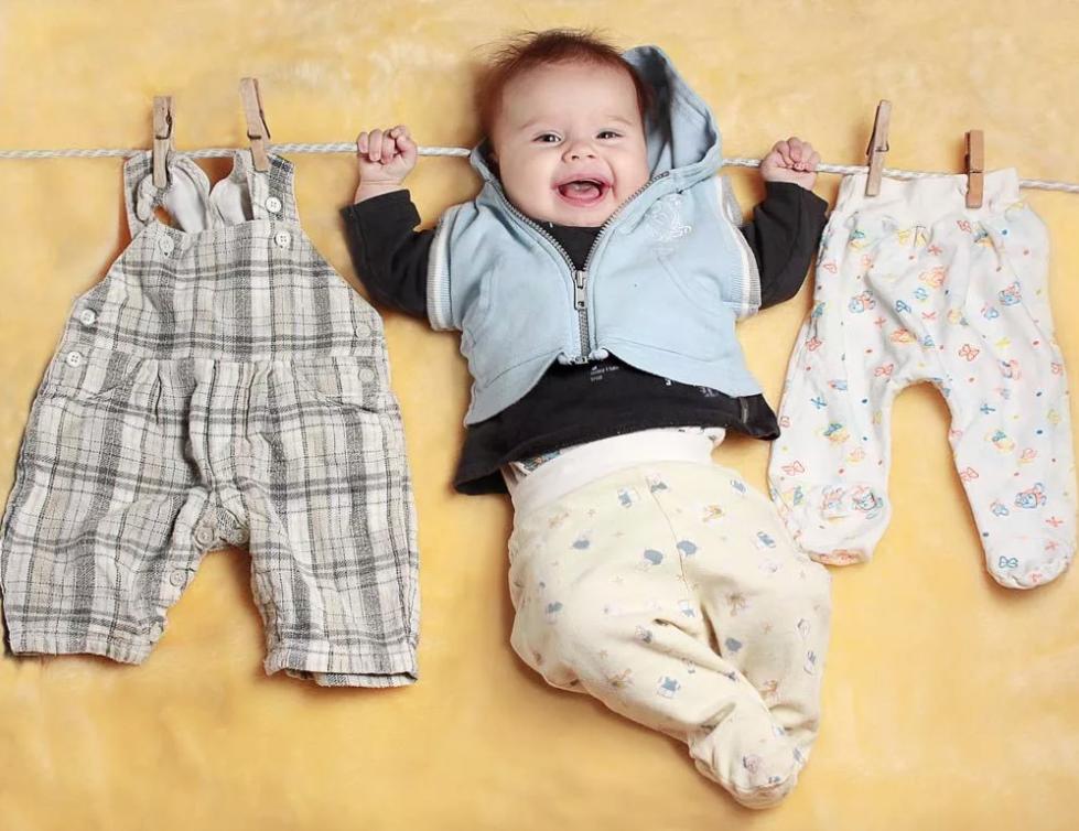 как выбирать одежду новорожденному