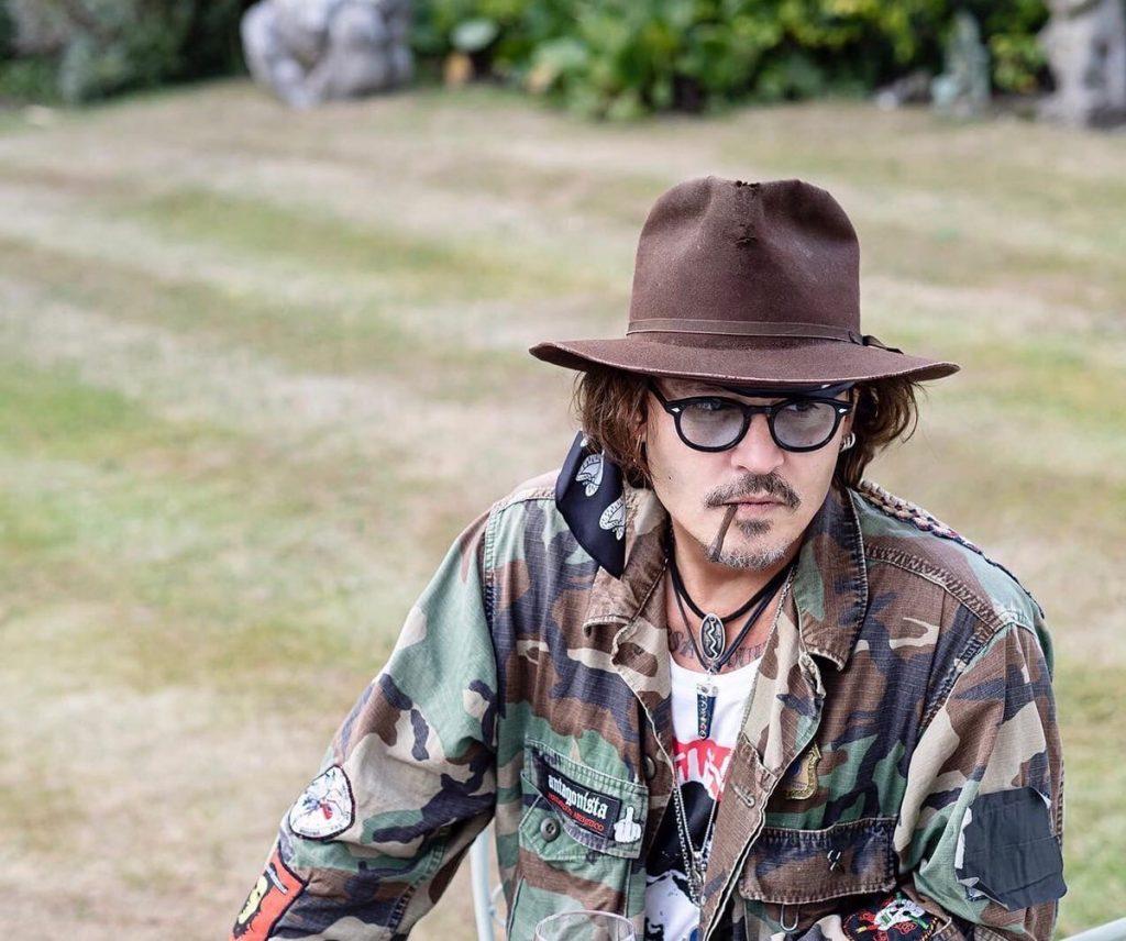 Johnny Depp by Ross Halfin